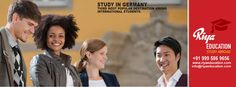 Abroad Education in Germany - Germany is the third most popular destination among international students.Students who wish to study in Germany get in touch with Riya Education.  #mangalore  #India #Consultants #Higher Education #master's #bachelor's