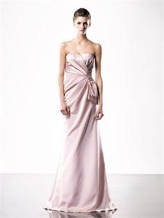 A-line Pink Strapless Floor Length Prom Dress PD10172 www.dresseshouse.co.uk £89.0000