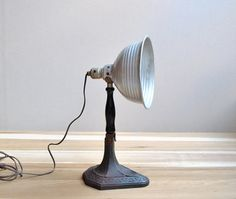 Industrial Era Task Lamp by LittleDogVintage on Etsy, $105.00