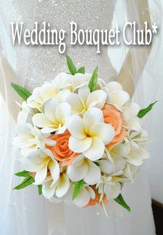 憧れのプルメリア ブーケ特集|Wedding Bouquet Club