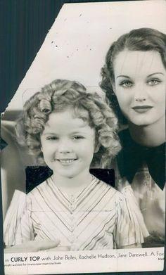 *SHIRLEY TEMPLE ~ Curly Top w/ John Boles, Rochelle Hudson, Jane Darewell