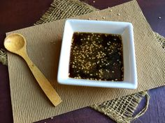 Yakiniku sauce is a Japanese sauce with a mixture of savory and sweet flavors that is used to season grilled or sauteed meats and vegetables. Veal Recipes, Sauce Recipes, Asian Recipes, Vegetarian Recipes, Cooking Recipes, Filipino Recipes, Easy Japanese Recipes, Japanese Food, Tare Sauce Recipe