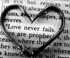 bible, bible verse, faith, heart, hearts, hook - inspiring picture on Favim.com
