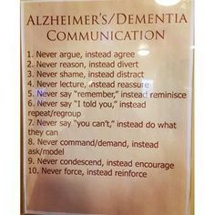 Despite the prevalence of dementia and Alzheimer's in the population and the increasing odds we will, at a minimum, come into contact, if not already in relationship, with someone who has th… Dementia Symptoms, Alzheimer's And Dementia, Poem Quotes, Poems, Alzheimers, Communication, Death, Told You So, Learning