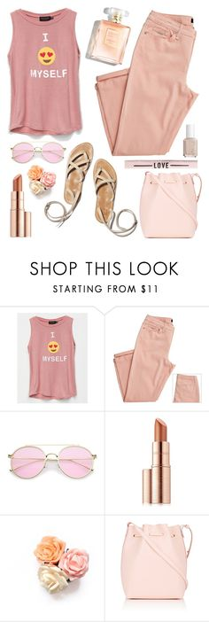 """""""Nice Weekend dear Polyvore Friends"""" by grozdana-v ❤ liked on Polyvore featuring Poolhouse, Estée Lauder and Mansur Gavriel"""