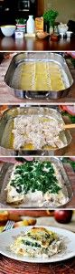 The Homestead Survival | White Cheese and Chicken Lasagna Recipe – Freezer Meal | http://thehomesteadsurvival.com