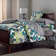 Canopy Flannel Bedding Duvet Cover & Sham from The Company Store