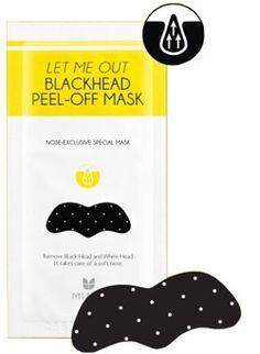 Mizon Let Me Out BlackHead - Plaster oczyszczający na nos 1szt.