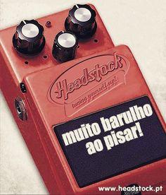 Pise sem cuidado!  #headstock #headstockpt #pedalboard #cascais #lisboa