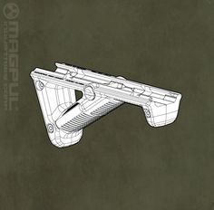 Magpul angled foregrip: $34.95    Maybe a bipod instead, I don't really know yet.