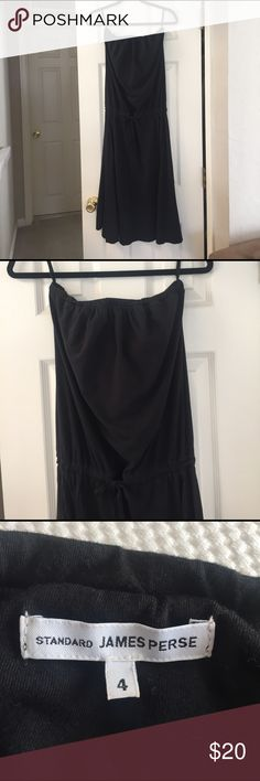 James Perse Cute  strapless tube dress from James Perse. Size 4 ( please see sizing chart). Gently used condition. Thanks for looking, taking offers! James Perse Dresses