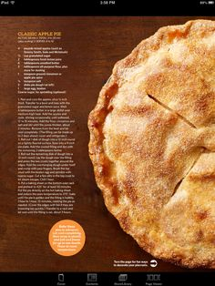 Pin by bridgitte donahue on dessert pinterest pies recipe cards food network magazine nov page classic apple pie forumfinder Choice Image