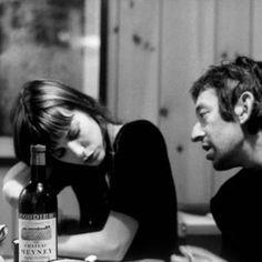 Jane Birkin and Serge Gainsbourg by Ian Berry, London,