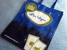 Whole Foods Market Las Vegas Reusable Eco-Friendly Canvas Shopping Bag Tote NEW