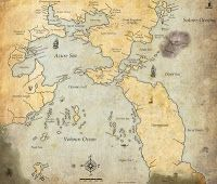 """Greyhawkery: New Greyhawk Map: South Seas On """"Greyhawkery"""" Mike """"Mortellan"""" Bridges writes, illustrates, and interviews some of the most interesting people, places, and things in the World of Greyhawk!  Visit his blog today!"""