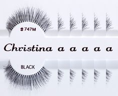 Eyelashes by Christina: * of strip lashes and each pack contains a pair of lashes. * Natural looking black strip lashes. * Made in Indonesia, with Quality Control passed. Production Line, False Eyelashes, How To Make, Cherry, Image, Beauty, Red, Tools, Natural