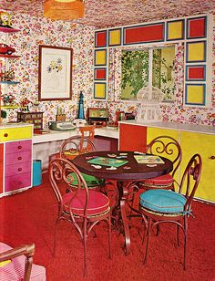 from the Practical Encylopedia of Good Decorating and Home Improvement, 1970