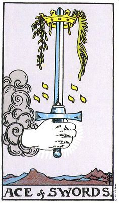 Suit of Swords in health and love readings
