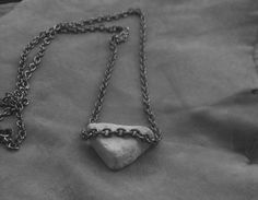 Diy Rock Necklace ∙ How To by Erin P. on Cut Out + Keep