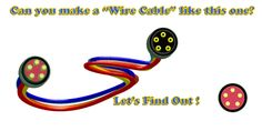 Illustrator and Flash Wire Cable Illustrator, It Works, Cable, Wire, Symbols, Let It Be, Learning, How To Make, Cabo