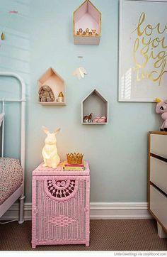 Cute ceramic rabbit lamp | 10 Illuminating Kids Lights - Tinyme Blog