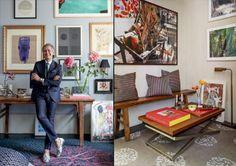 Cacá de Souza abre sua casa em NY Sweet Home, Gallery Wall, Frame, Home Decor, Travel Photos, News, Picture Frame, Decoration Home, House Beautiful