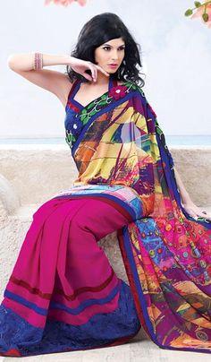 Sarees: Buy Indian Sarees Online, Latest Saree Shopping For Wedding, Engagement, Reception, Parties Saree Fashion, Indian Fashion, Indian Sarees Online, Saree Shopping, Desi Clothes, Latest Sarees, Saree Styles, Printed Sarees, Pakistan
