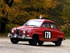 Saab 96 Rally Car 1960: