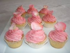 Rosewater Cupcake Recipe