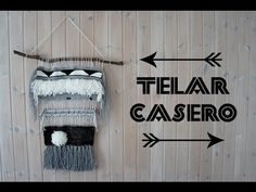 WHATDAYMADE DIY: Tissage Woven Wall Hagging - YouTube