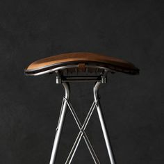 Bar stool / contemporary / leather / metal wire - WIRE - OVERGAARD & DYRMAN
