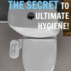 Toilet paper is not only ineffective it's toxic! Use a bidet for increased hygiene and live a healthier lifestyle. It's easy with this product. Bathroom Renovations, It's Easy, Toilet Paper, Healthy Lifestyle, Cleaning, Live, Products, Healthy Living, Home Cleaning