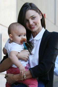 Miranda Kerr with Baby Flynn