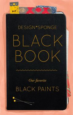 Design*Sponge Favorite Black Paints