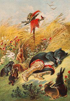Illustration by Carl Offterdinger, end of the 19th century, Stuttgart.