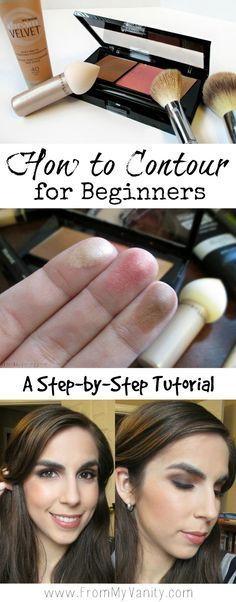 How to Contour for Beginners // Step-by-Step Tutorial // featuring Maybelline Contour Palette // #MNYLooksToLove #ad #LadyKaty92 // FromMyVanity.com