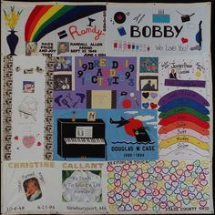 AIDS Quilt for my brother Doug Case