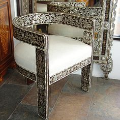 Furniture Design, Thai Decor, Furniture, Furniture Details, Upscale Furniture, Moroccan Furniture, Inlay Furniture, Stencil Furniture, Beautiful Furniture