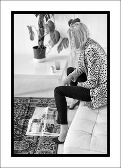 WEEKEND INSPIRATION: LEOPARD PRINT COAT + HOME DECOR