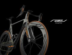 Rael road bike concept by Evan Solida