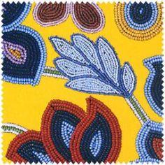 Native Beaded Flowers