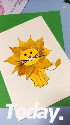 Diy Crafts For Kids Easy, Animal Crafts For Kids, Paper Crafts For Kids, Craft Activities For Kids, Preschool Crafts, Toddler Activities, Art For Kids, Toddler Art, Toddler Crafts