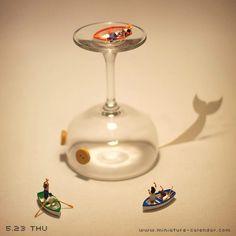Whale http://miniature-calendar.com/130523/