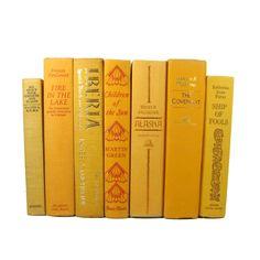 Yellow / Gold Book Set