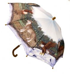 North American Animals Umbrella For Children at theBIGzoo.com, a toy store that has shipped over 1.2 million items.
