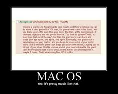 What It's like to use a Mac OS
