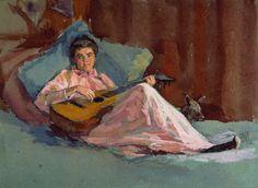 Musical Interlude (1910), Ellen Day Hale