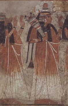 Procession of Women, New Kingdom #egypt #egyptian #art