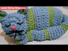 Crochet Hats, Crochet Frog, Crochet Horse, Blue Cats, Cute Crafts, Crochet Dishcloths, Weights, Crochet Diagram, Crocheted Toys