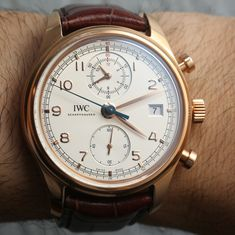 IWC Portuguese Chronograph Classic Watch Review